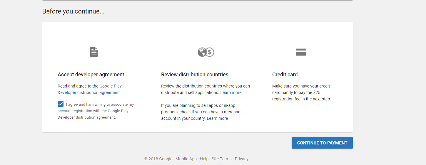 Create a Google Play Developer Account – Help Center