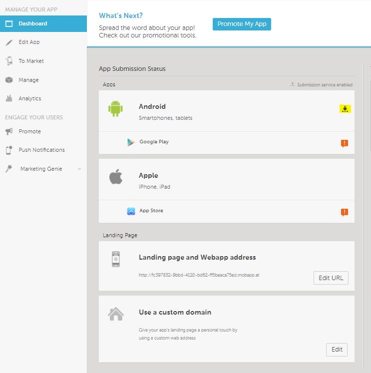 Download Your App's APK File – Help Center