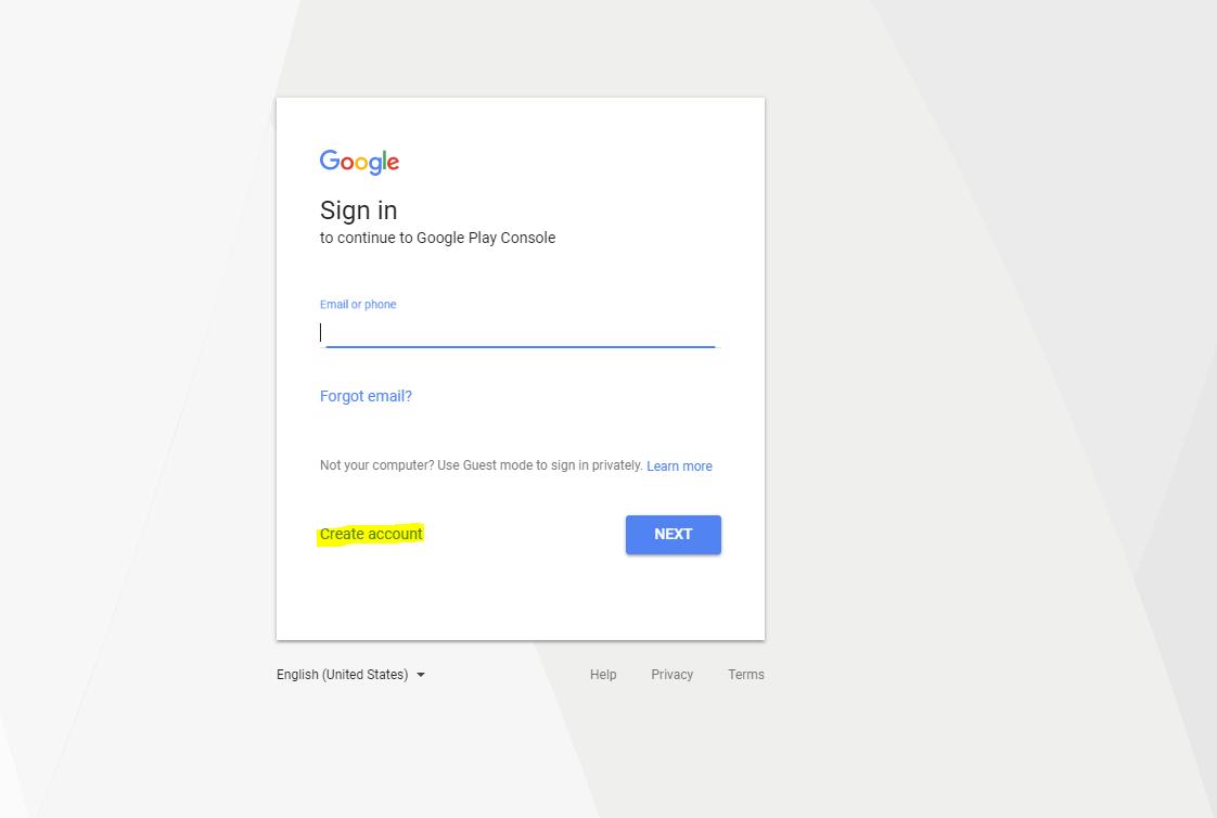 Create a Google Play Developer Account – Help Center