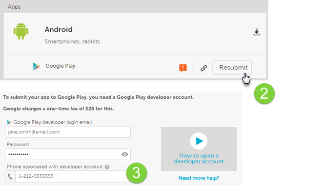App Rejected: Phone Verification for Google Play – Help Center