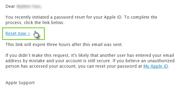 Forgot Your Apple ID or Password – Help Center