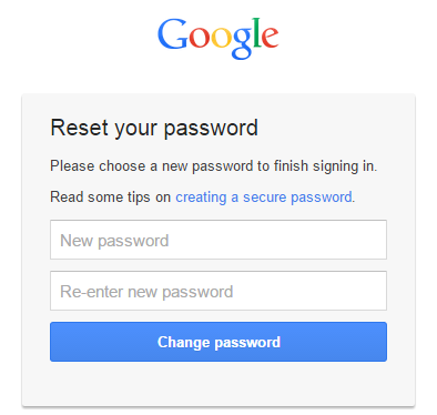 how to recover my google password from my android phone