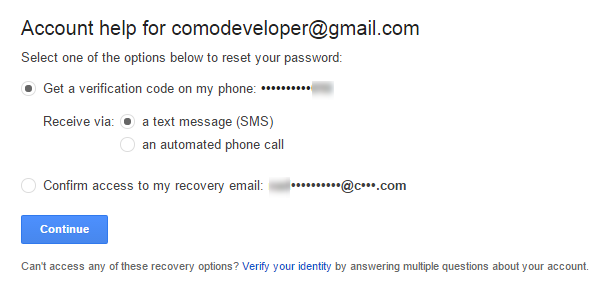 How To Regain Your Gmail Version Password