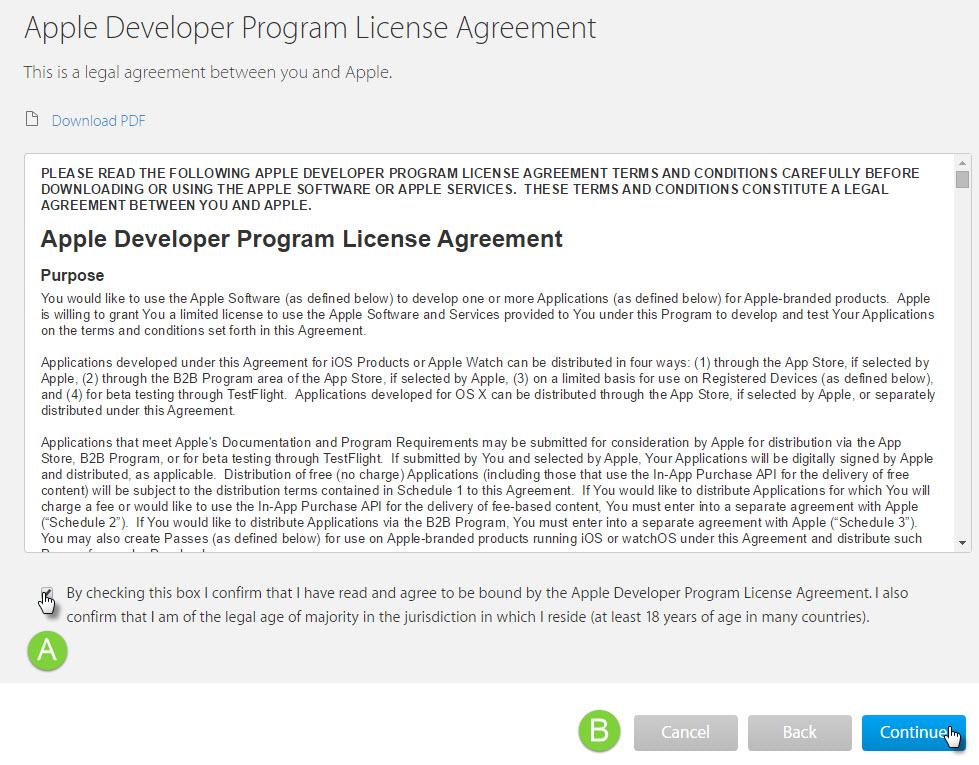 Create An Apple Developer Account Help Center