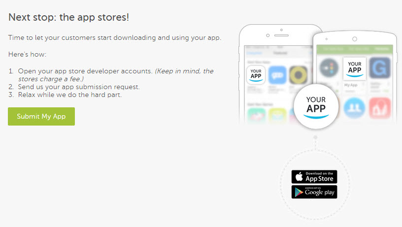 Create an app build for the apple app store help center click submit my app ccuart Image collections
